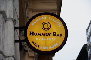 Awesome hummus bar.