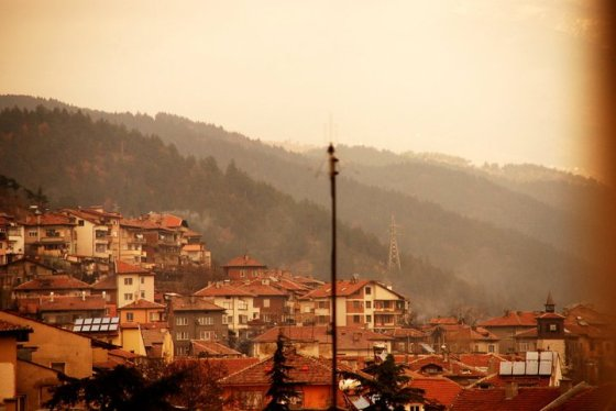 My beautiful city of Blagoevgrad, Bulgaria.